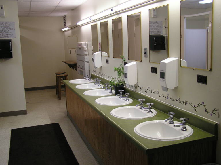 Restroom Upgrades Maintenance And Necessary Services - Public bathroom fixtures